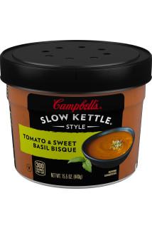 Tomato & Sweet Basil Bisque