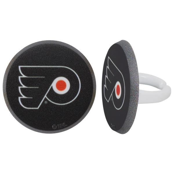 NHL® Team Puck Cupcake Rings
