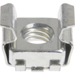 "Zinc-Plated Cage Nut (1/4""-20 Thread w/ 0.036""-0.063"" Panel Range)"