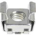 "Zinc-Plated Cage Nut (1/4""-20 Thread w/ 0.036""-0.063"" Panel Range)"