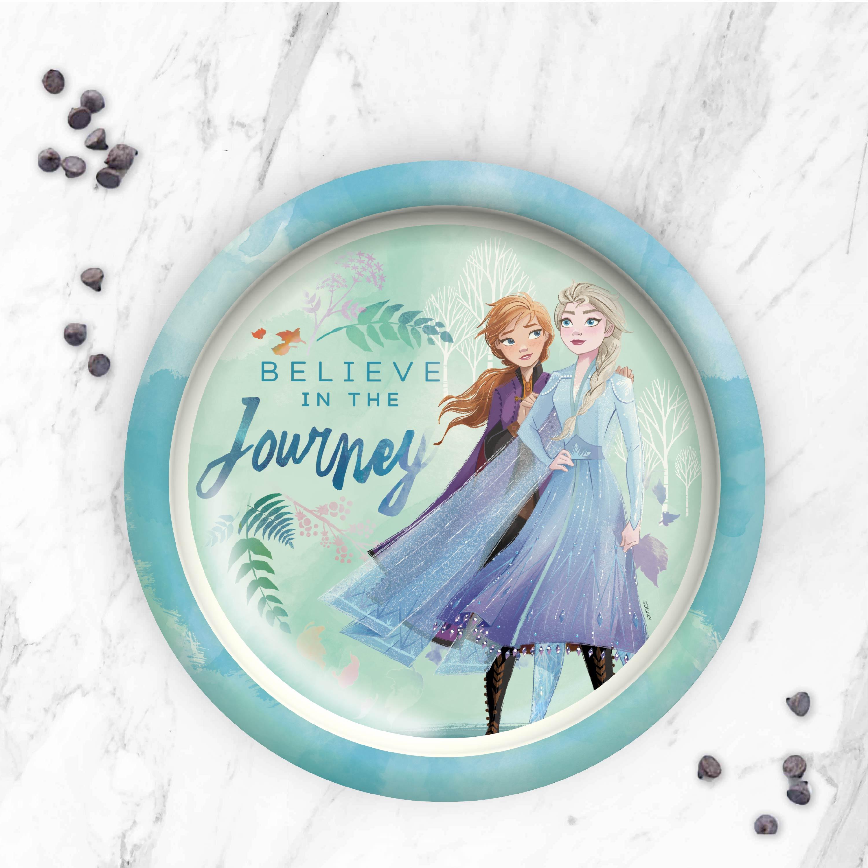 Disney Frozen 2 Movie Kids Plate and Bowl Set, Anna & Elsa, 2-piece set slideshow image 7