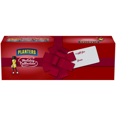 Planters Holiday Honey Roasted/Sweet n' Crunchy/Cocktail Peanuts Variety Pack 34 oz Box