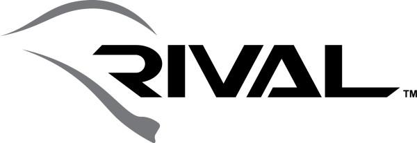 Rival lacrosse helmet logo