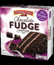 (19.6 ounces) Pepperidge Farm® Chocolate Fudge 3-Layer Cake