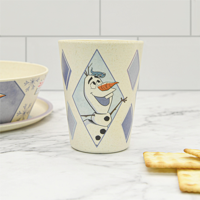 Disney Frozen 2 Movie Kids 3-piece Dinnerware Set, Anna and Elsa, 3-piece set slideshow image 6