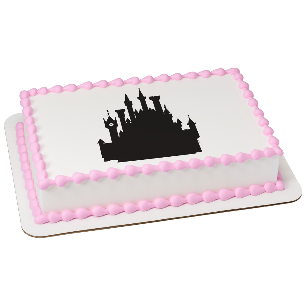 Disney Princess Castle Silhouette