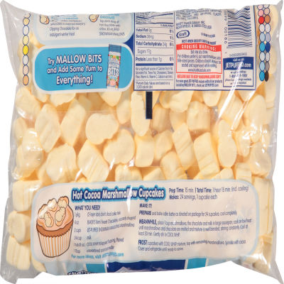 JET-PUFFED Snowman Mallows French Vanilla Marshmallows 8oz Bag
