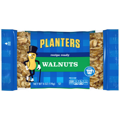 Planters Walnuts Halves 6 oz Bag