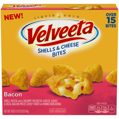 Velveeta Shells & Cheese Bites Bacon 18 oz Box