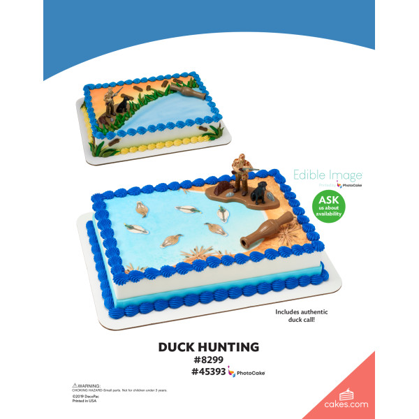 Duck Hunting DecoSet® The Magic of Cakes® Page