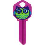 WacKey Owl Key Blank