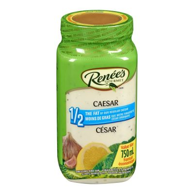 Renees Light Caesar Dressing, 750mL