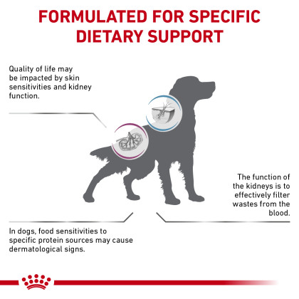 Multifunction Renal Support + Hydrolyzed Protein Dry Dog Food (Packaging May Vary)