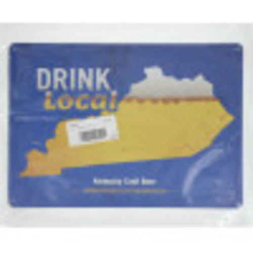 Drink Local Kentucky Beer Novelty Sign (10