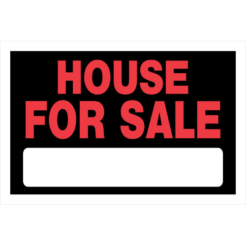 House For Sale Sign Black and Red (8