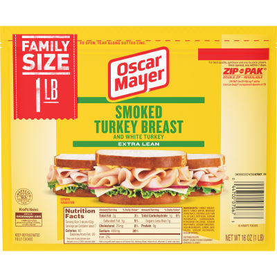 Oscar Mayer Smoked Turkey Breast 16 oz