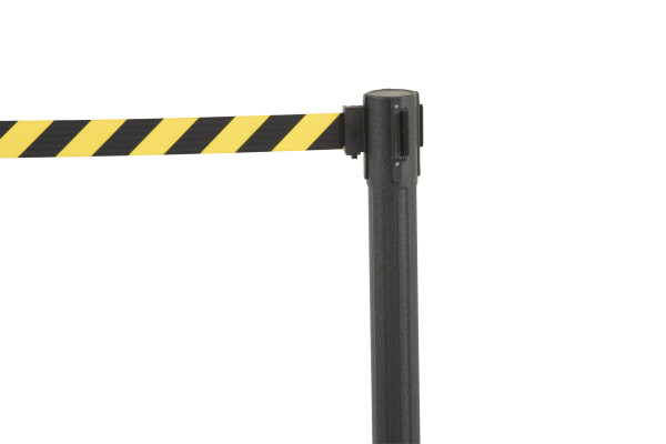 Sentry Stanchion - Black with CYB belt 6