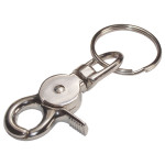 Trigger Snap Hook With Key Ring