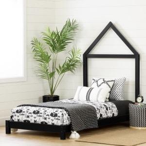 Sweedi - Lit avec tête de lit maison