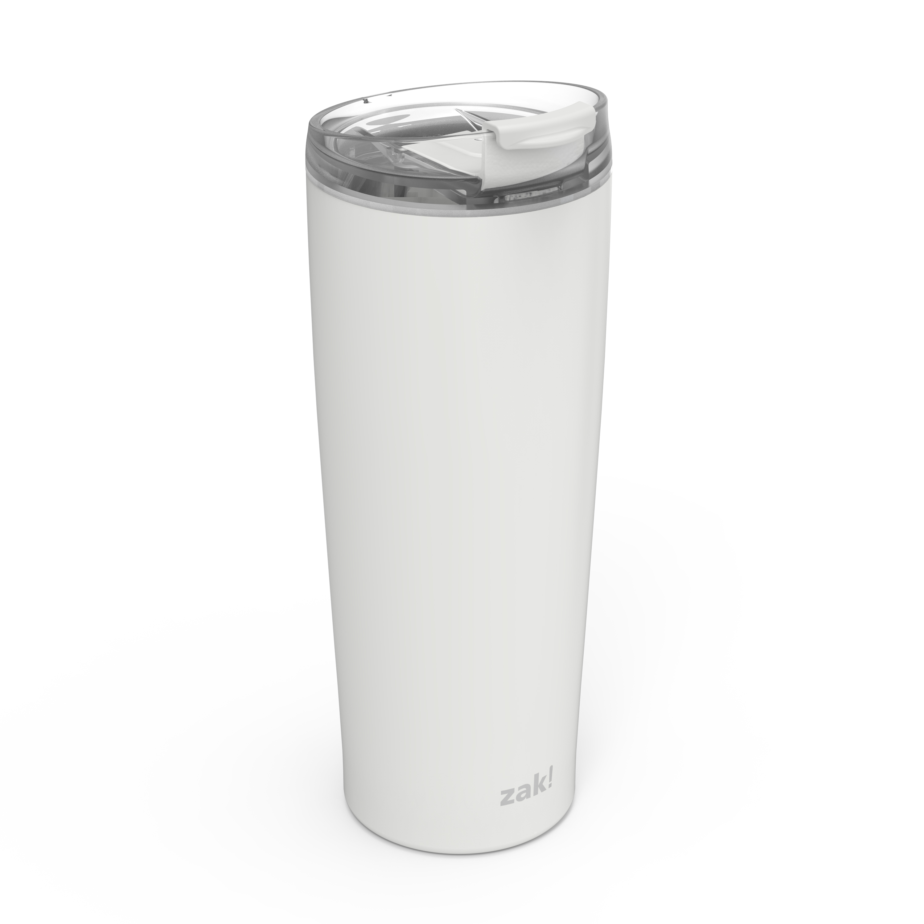 Aberdeen 24 ounce Vacuum Insulated Stainless Steel Tumbler, Gray slideshow image 4