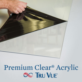 Tru Vue Premium Clear Acrylic 40
