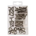 Oval Head Phillips Stainless Steel Sheet Metal Screws Kit
