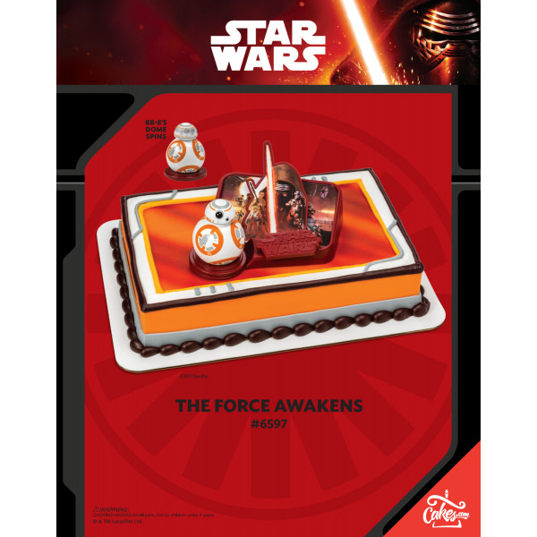 Star Wars™: The Force Awakens DecoSet® The Magic of Cakes® Page