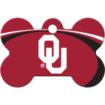 Oklahoma Sooners Large Bone Quick-Tag
