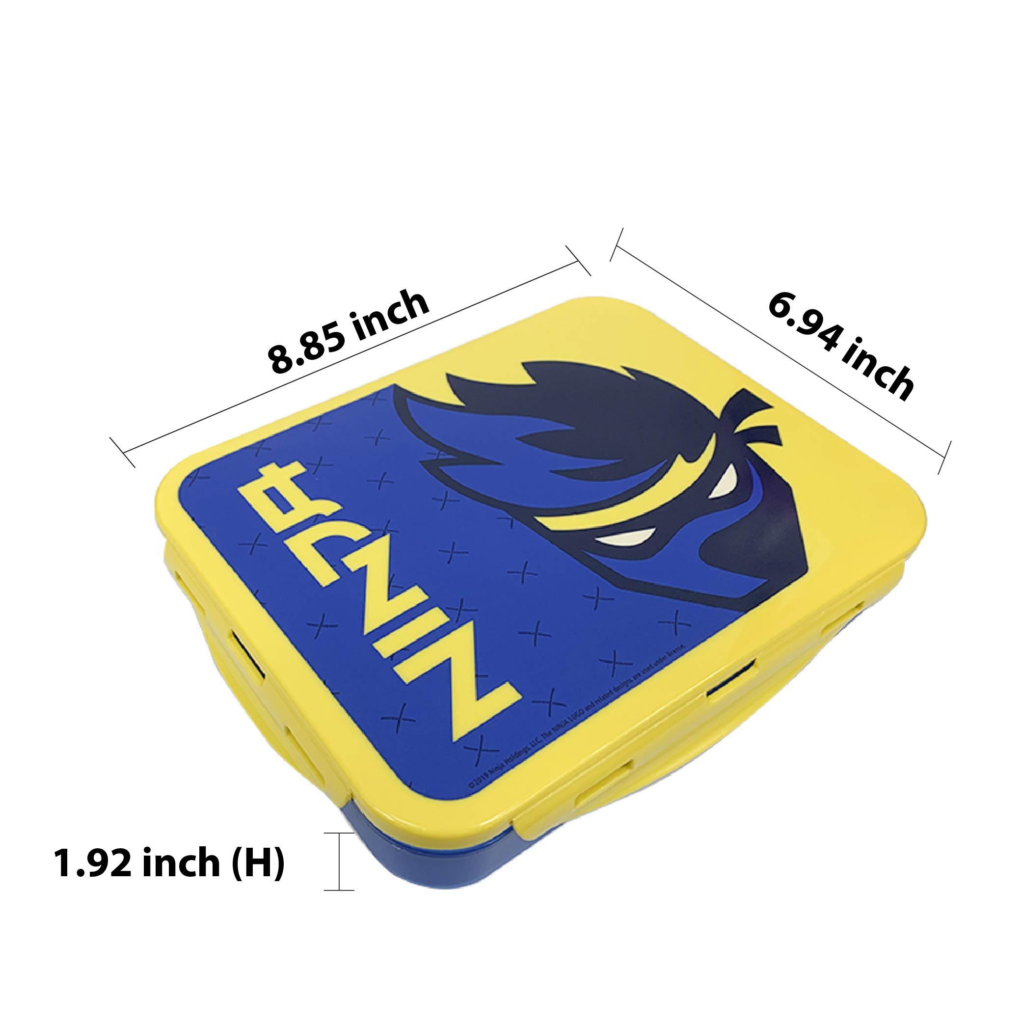 Ninja 3-section Reusable Bento Boxes, Video Games, 2-piece set slideshow image 2
