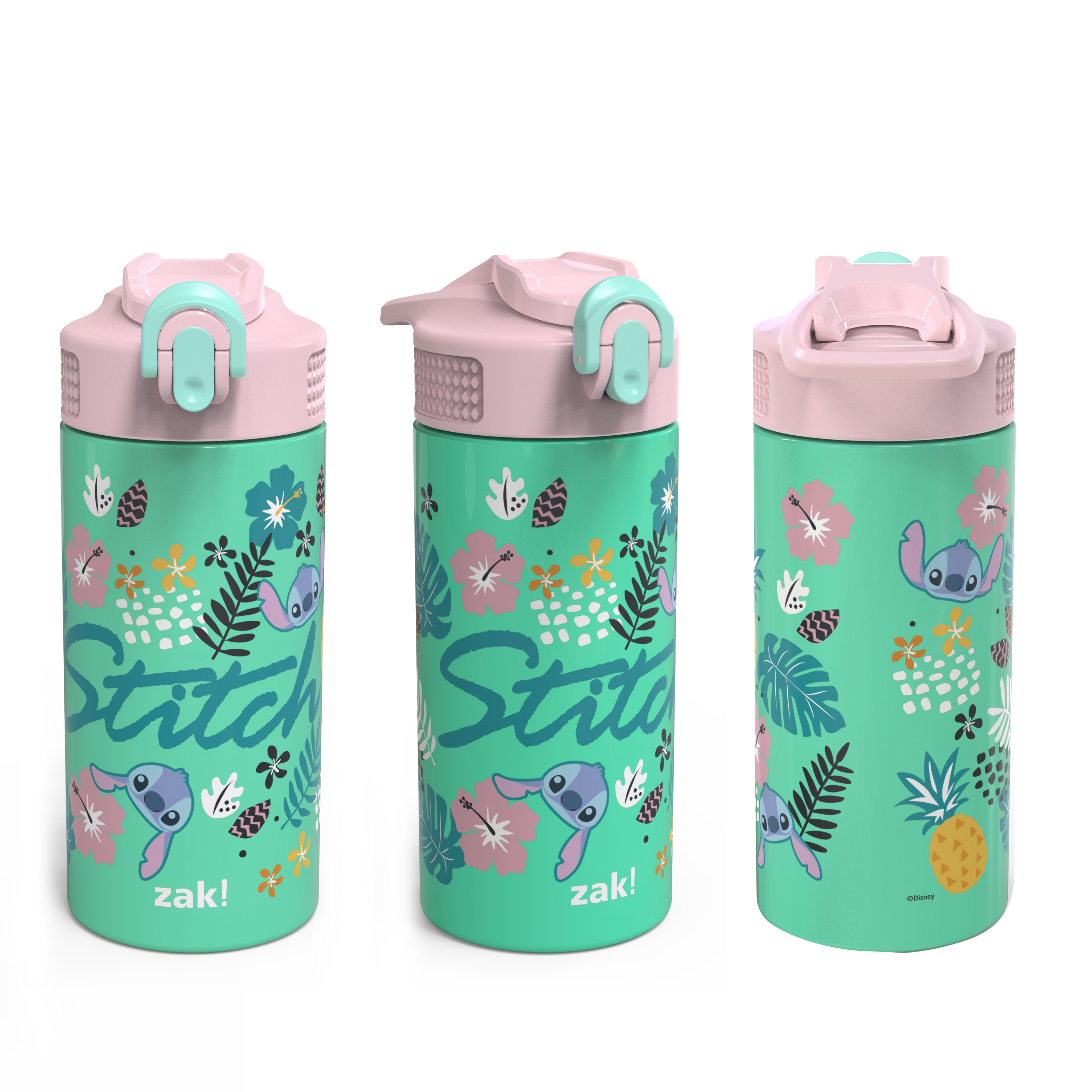 Disney 14 ounce Stainless Steel Vacuum Insulated Water Bottle, Lilo and Stitch slideshow image 6