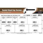"""Socket-Head Cap Screws Assortment (1/2""""-20 Thread)"""
