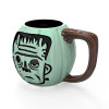 Little Monsters 15 ounce Coffee Mug and Spoon, Frankenstein slideshow image 3