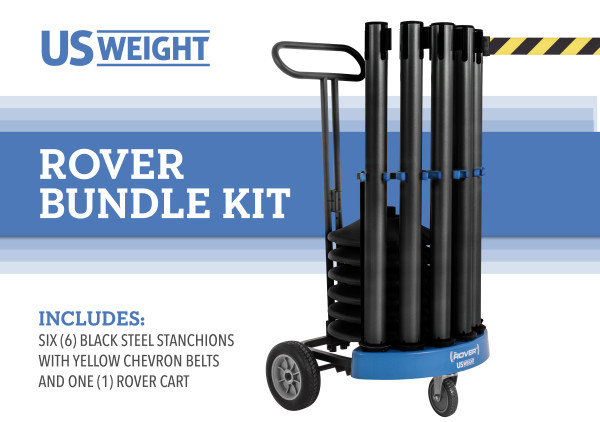 Rover Cart Bundle - Black Steel with CYB belts 2