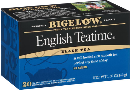 English Teatime Case of 6 boxes - total of 120 teabags