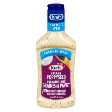 Kraft Poppy Seed Calorie Wise Salad Dressing
