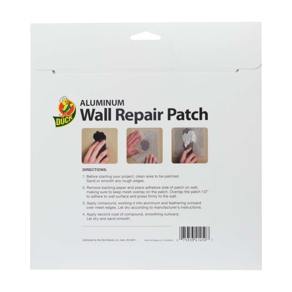 Aluminum Wall Repair Patch