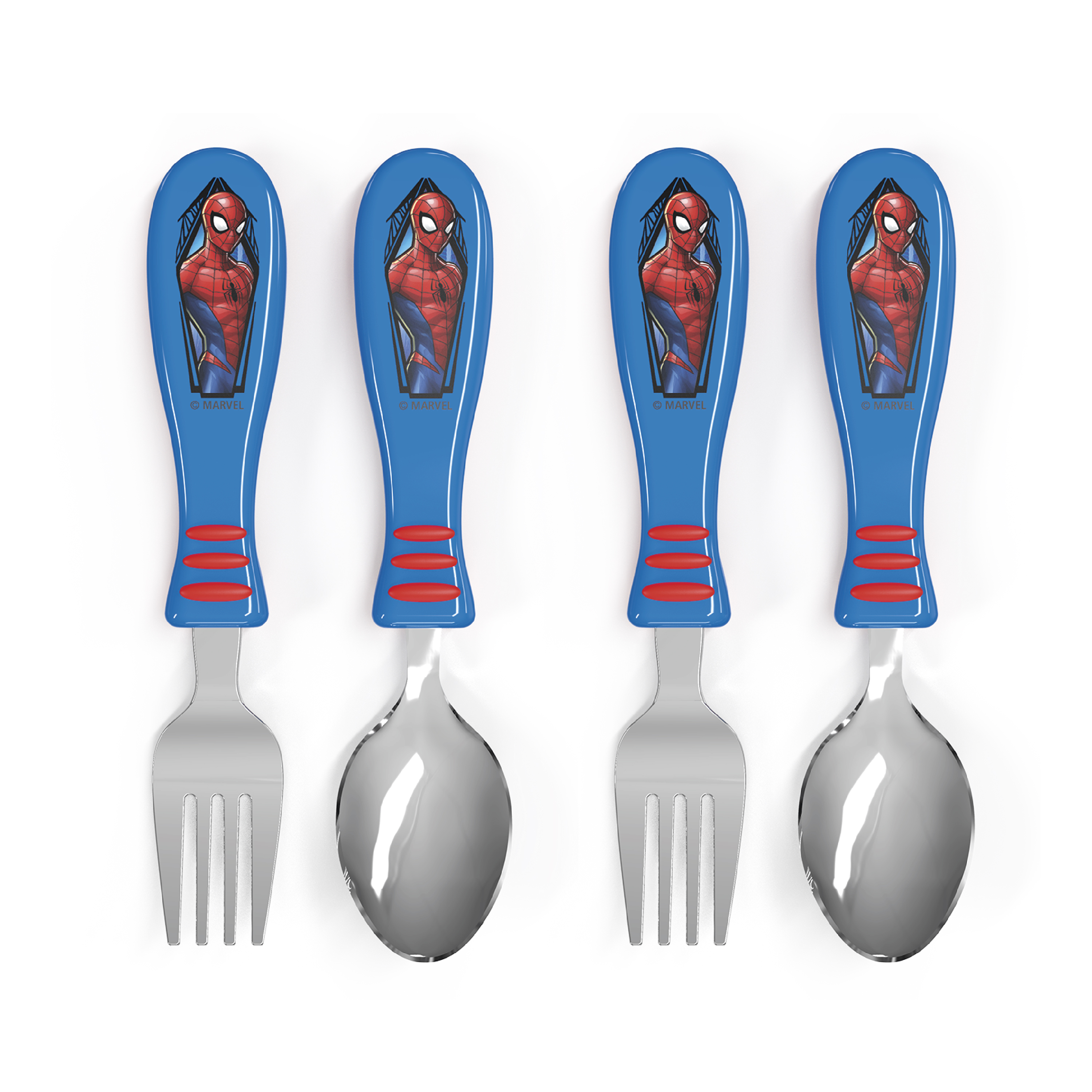 Marvel Comics Kid's Flatware, Spider-Man, 2-piece set slideshow image 1