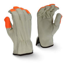 Radians RWG4220H High Visibility Standard Grain Cowhide Leather Driver