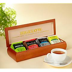 Tea Chest with Four Flavors - total of 32 teabags