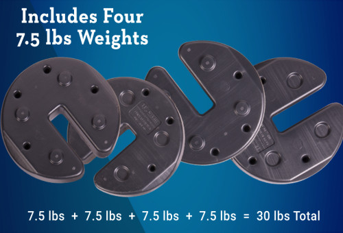Portable Net Weights