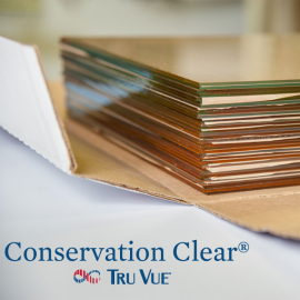 Tru Vue Conservation Clear Glass 18