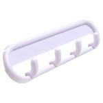 Hardware Essentials Pronged Plastic Key Hooks