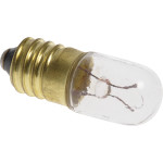Screw Base Bulb for Appliances, Radios, TVs (6.3V x 0.15 Amp)
