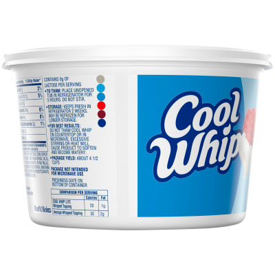 Cool Whip Lite Whipped Topping 12 oz Tub