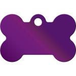 Purple Small Bone Quick-Tag