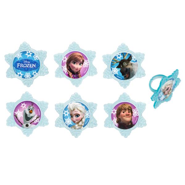 Frozen Adventure Friends Cupcake Rings
