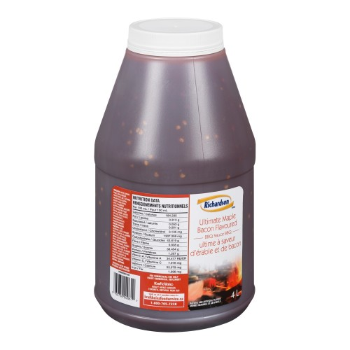 RICHARDSON Ultimate Maple Bacon Barbecue Sauce 4L 2