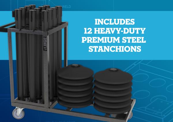 Statesman Cart Bundle - Black Steel 7