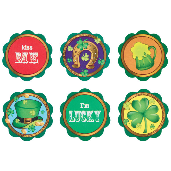 St. Patrick's Day Icons Poly Layon