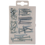 Hex Washer Head Self-Drilling Screw Kit